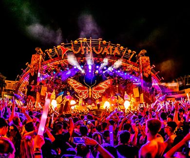 Tomorrowland presents Dimitri Vegas & Like Mike Garden of Madness Ushuaia Ibiza 2018