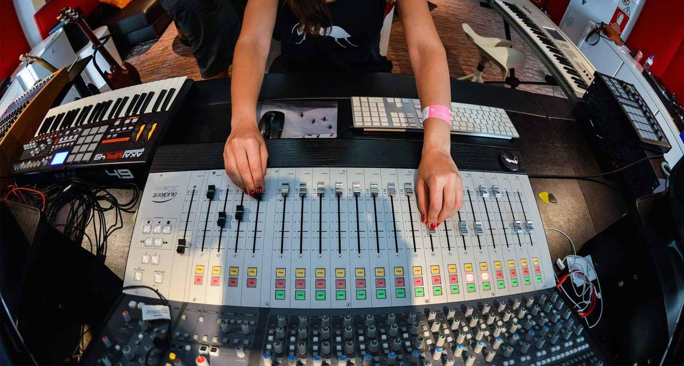 Ushuaïa Ibiza Beach Hotel - vip recording studio