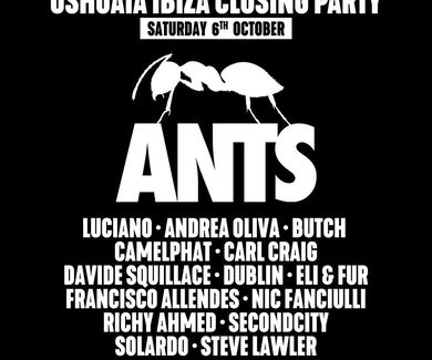 Ushuaia Ibiza Closing Party 2018 Blog lineup