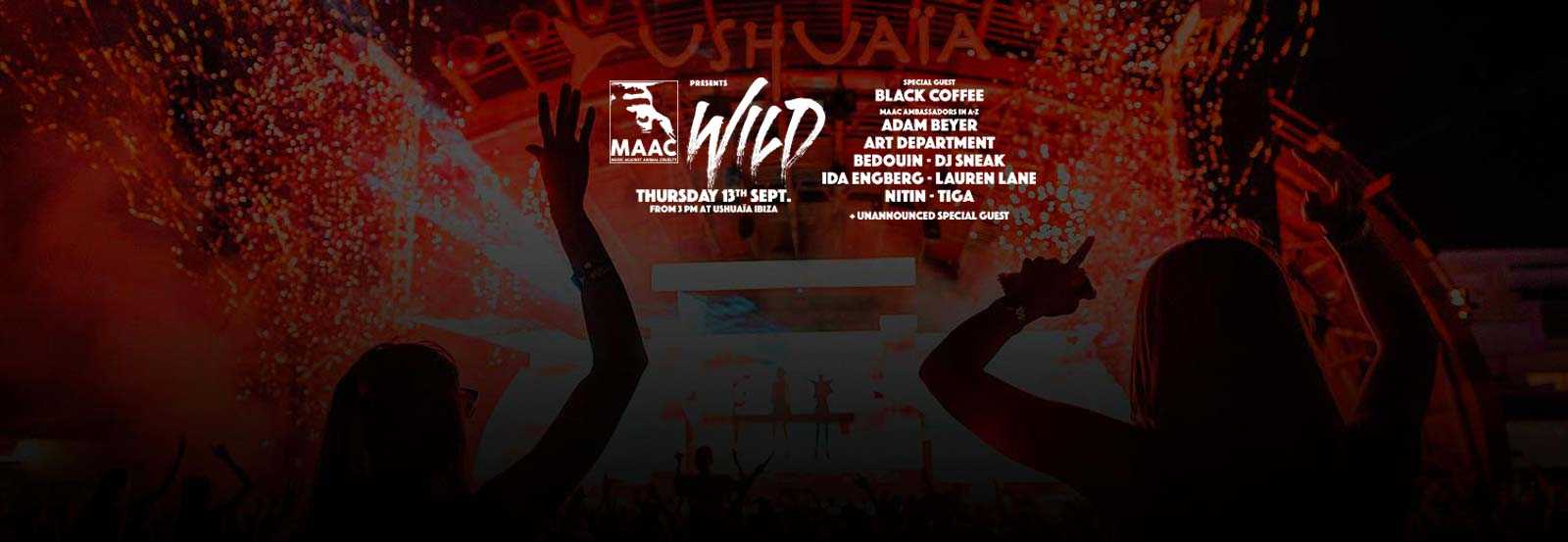 Wild, the most beneficial event of the season at Ushuaïa Ibiza